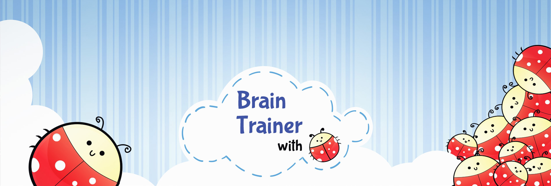 Brain Trainer with Ladybug