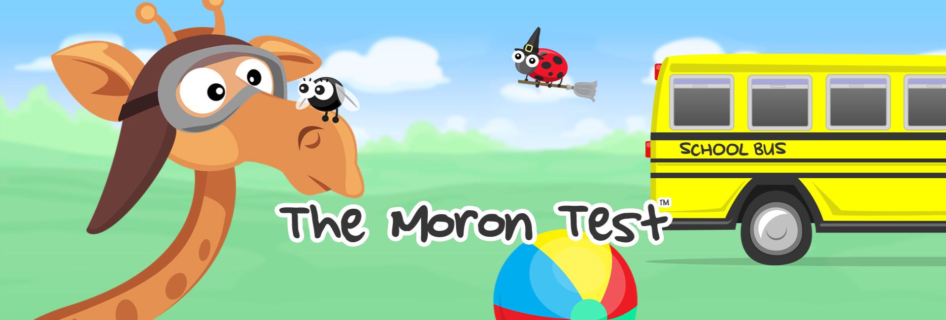 moron test answers skip day